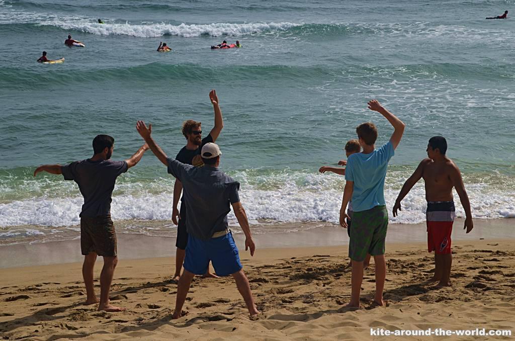M Surflehrer Beach