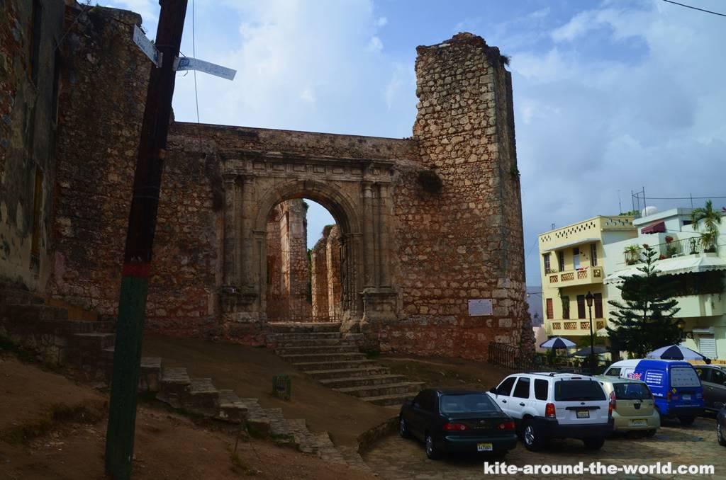 verfallene Kirche Santo Domingo