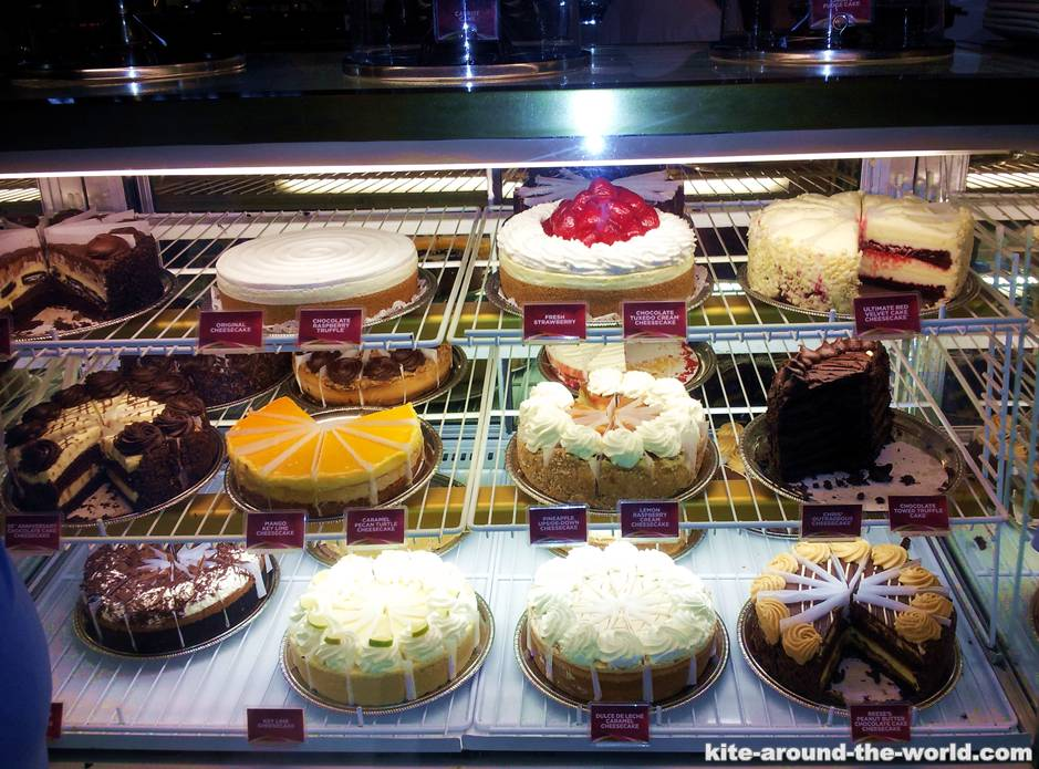 Kuchen Cheesecake Factory