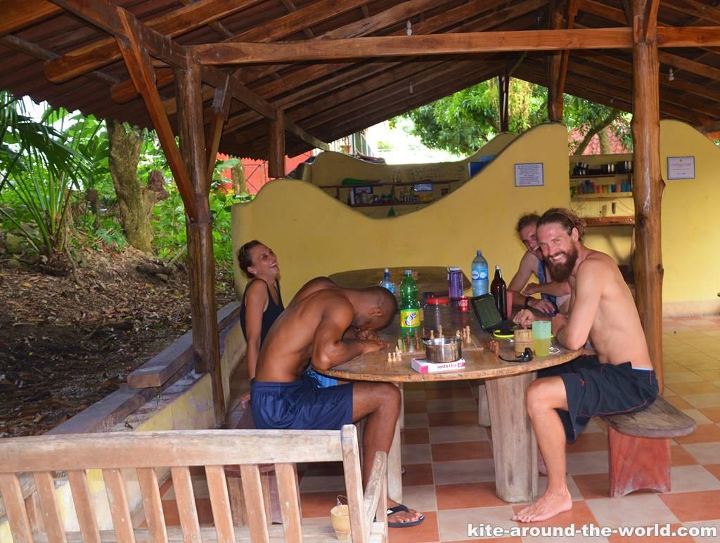 14.8 Hostel Tranquillo Maria,Michael,Luca,Martin
