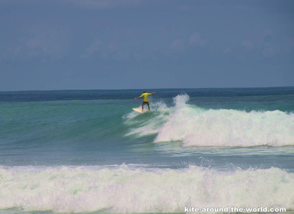 Martin on wave