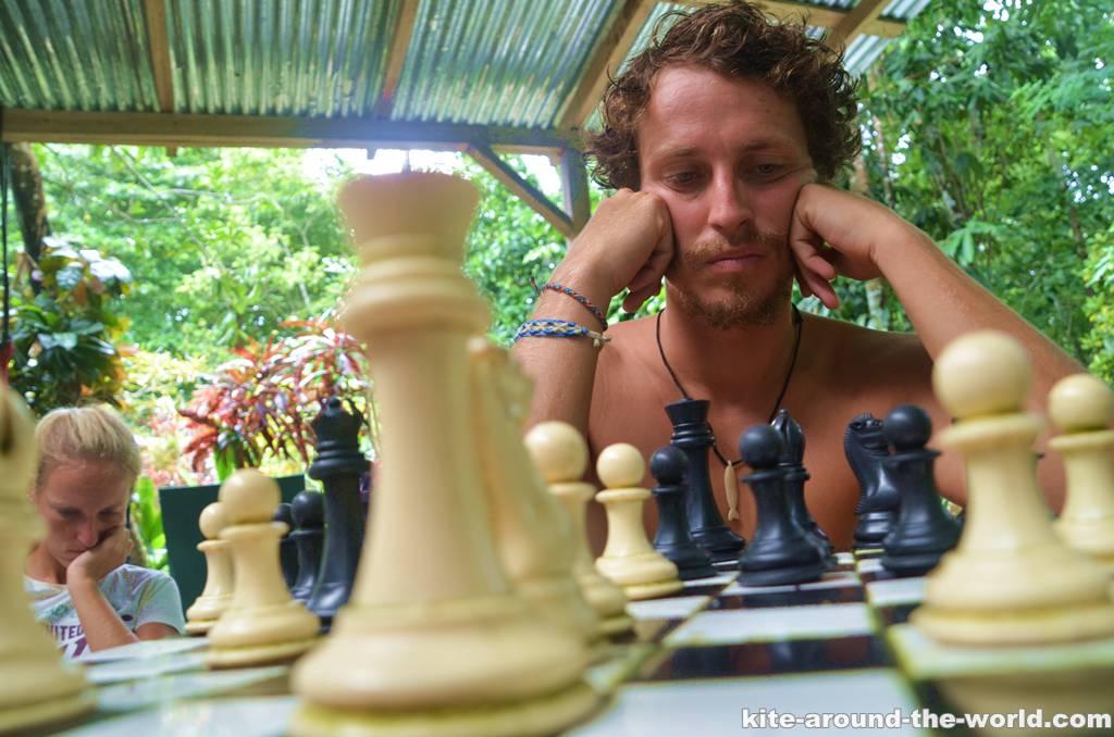 Daniels Schachverzweiflung