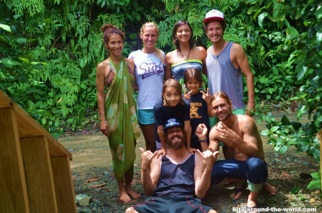 Dominicalito Familiy und wir