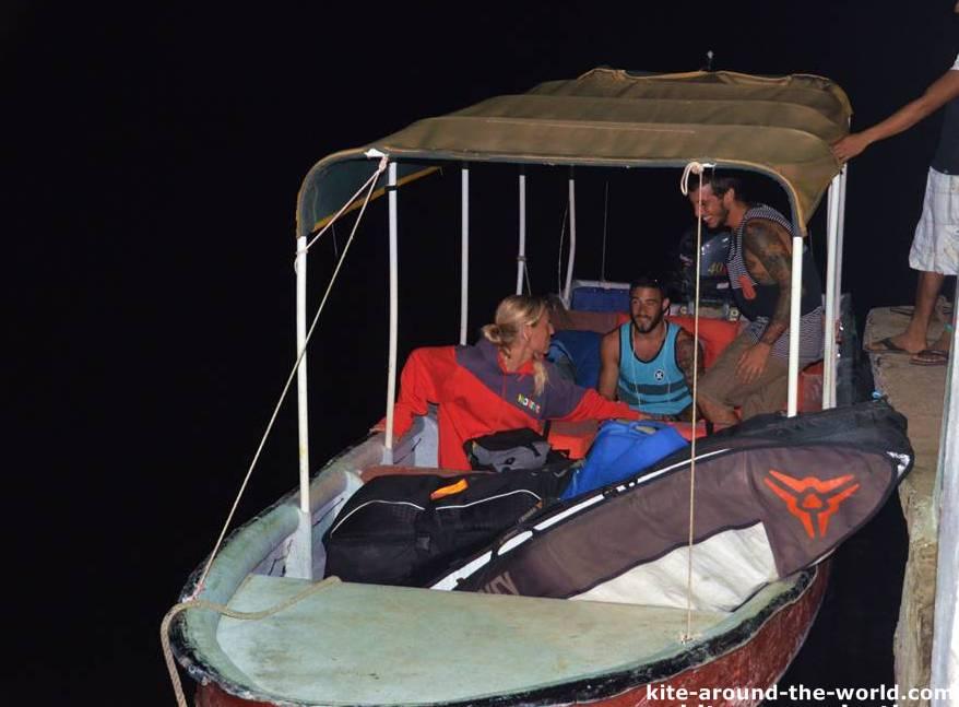Boot nach Bocas