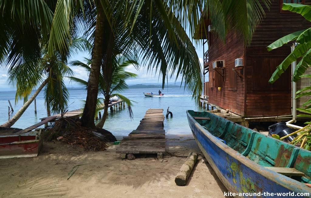 Boot und Strand