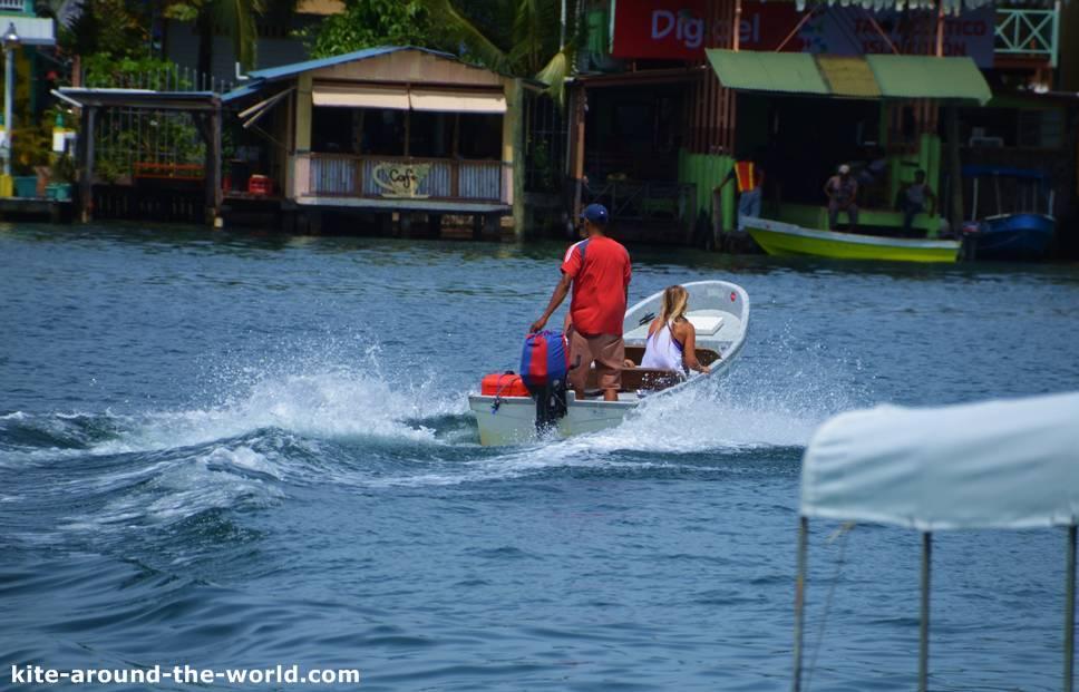 Taxiboot Bocas